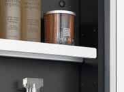 水洗い可能なアルミ棚板